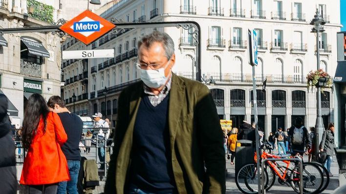 Mas muertos y casos de coronavirus por segundo día consecutivo en España