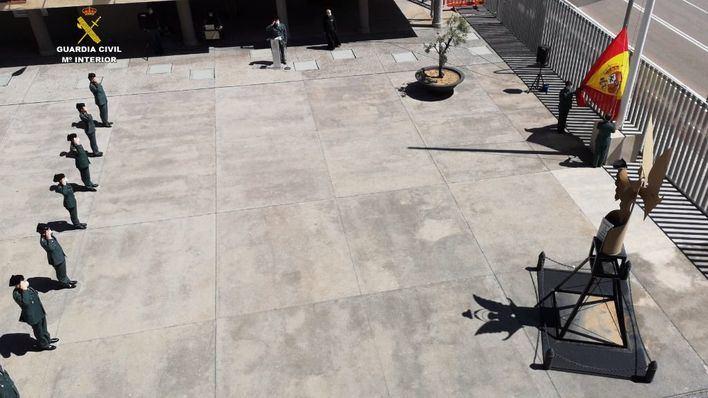 La Guardia Civil celebra con un acto simbólico sus 176 años de historia