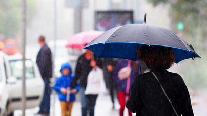 Nubes, lluvia, tormentas y barro en Baleares