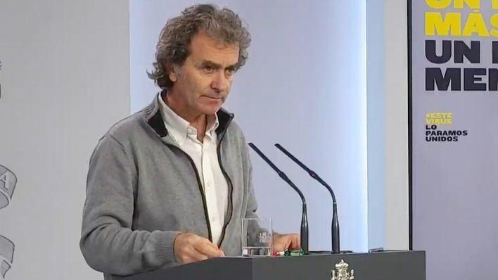 Simón defiende que las manifestaciones 'no tienen por qué ser en sí el origen de la transmisión'