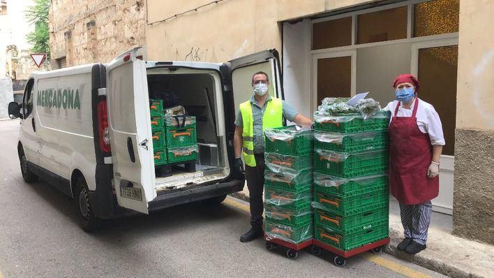 Mercadona amplía la donación de alimentos al Comedor Social Sor Isabel Bonnín de Inca