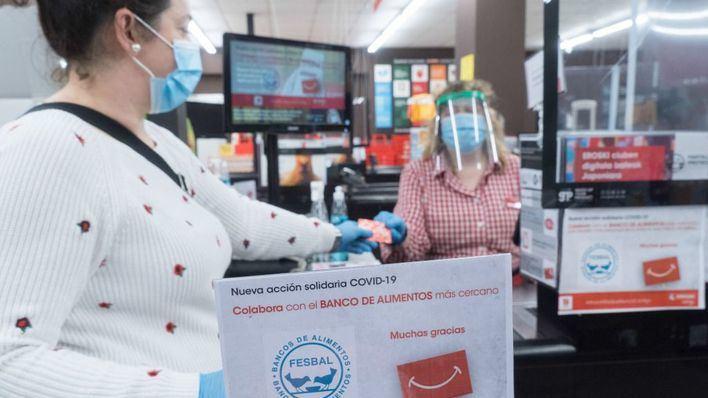 Eroski dona al banco de Alimentos en Baleares tres toneladas de productos