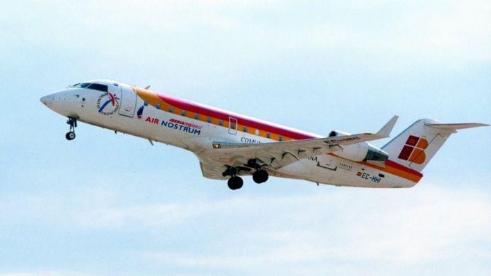 Air Nostrum retomará los vuelos interislas el próximo 24 de mayo
