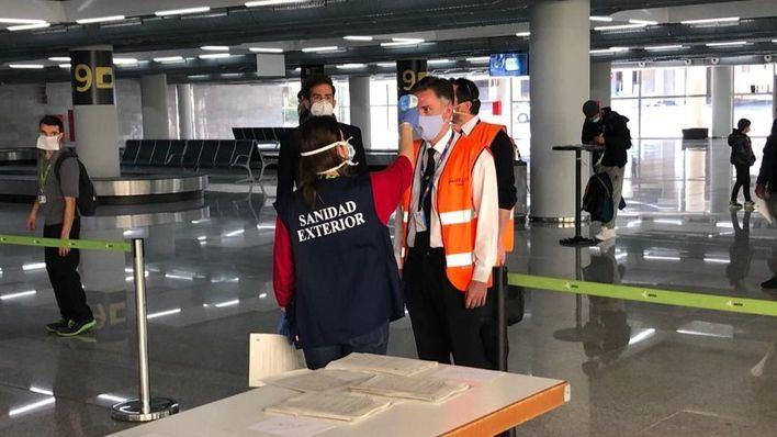 Medición de temperaturas en Aeropuerto de Palma