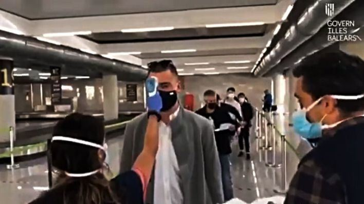 Crece el número de viajeros llegados a aeropuertos de Baleares