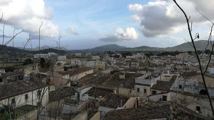 Domingo de lluvias en Baleares