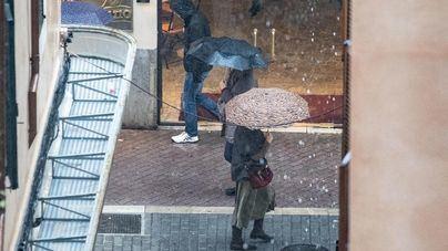 Baleares inicia la semana con chubascos y tormenta