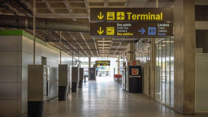 Los tres aeropuertos de Baleares, habilitados como puntos de entrada a España
