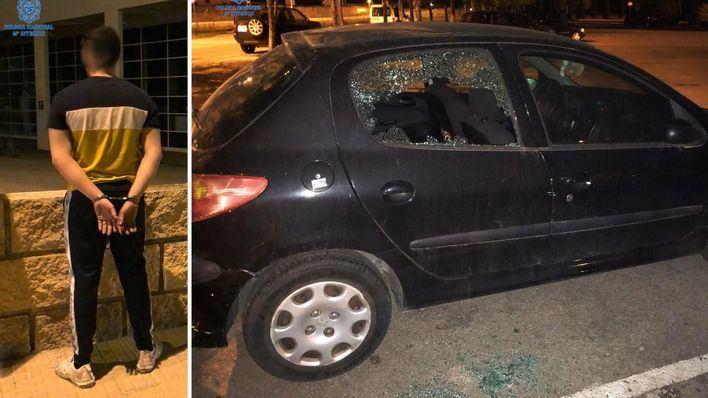 Detenido en Palma por múltiples robos con fuerza en vehículos