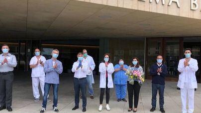 Los últimos pacientes de Covid-19 hospitalizados en el Meliá Palma Bay reciben el alta