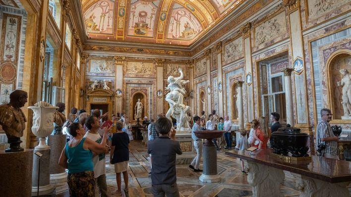 Roma reabre sus museos sin turistas