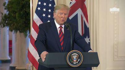 Trump cree que es una 'insignia de honor' que EEUU sea el país con más infectados del mundo por Covid 19