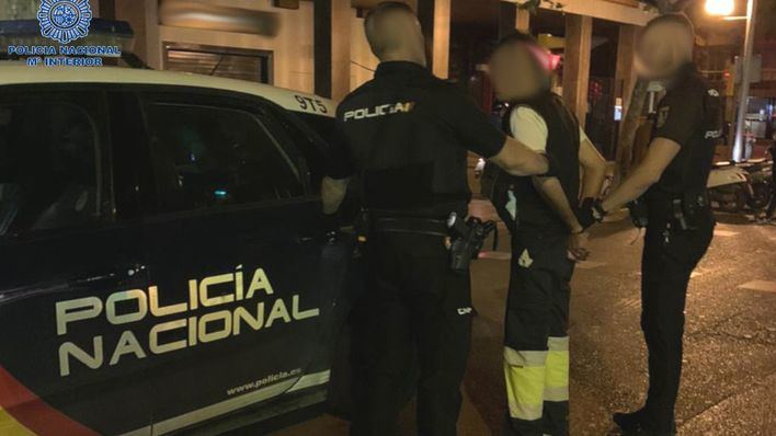 Llega a casa borracho y amenaza con abusar sexualmente de sus compañeras de piso en Palma
