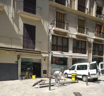 Levantadas en Palma 40 actas a terrazas por incumplir la normativa