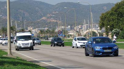 Palma limitará la circulación a 30 kilómetros por hora en casi toda la ciudad