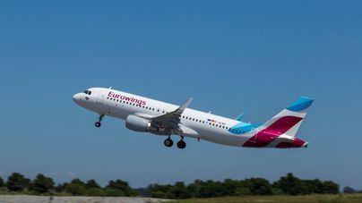 Eurowings recortará 300 empleos parar reducir costes administrativos
