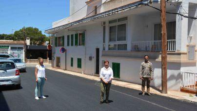 Santanyí desarrolla obras de mejora en el núcleo costero de Cala Figuera