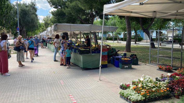 Los mercados temporales de Palma incorporan los puestos no alimentarios