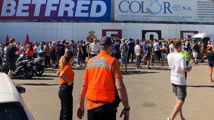 Mallorca se vuelca en la búsqueda de Marc Martorell