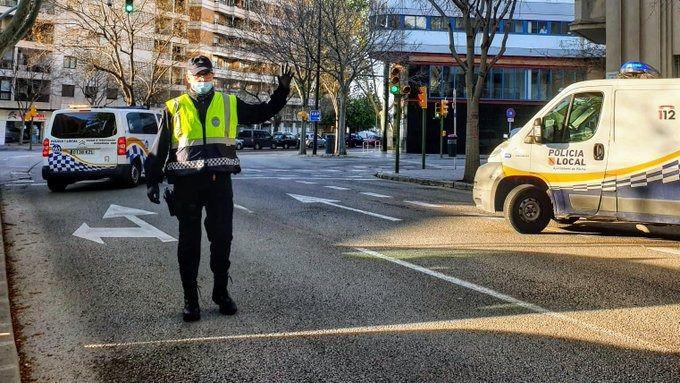 La Policía Local de Palma levanta 757 actas desde el comienzo de la fase 1 de desescalada