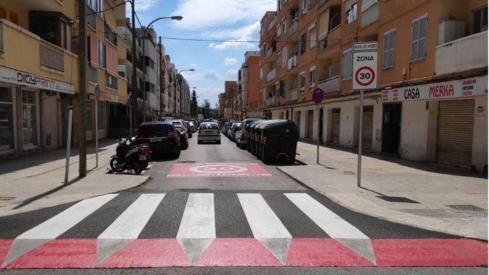 Ya es oficial, 9 de cada 10 calles de Palma estarán limitadas a 30 kilómetros por hora