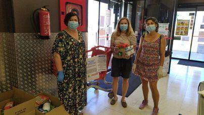 Eroski colabora con la campaña de recogida de alimentos en Capdepera
