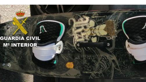 La Guardia Civil recupera una tabla de surf robada y puesta a la venta en internet