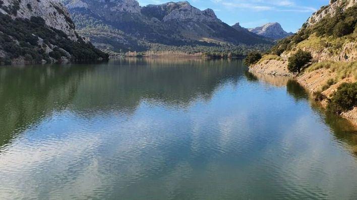 Descienden las reservas de agua del Gorg Blau y Cúber