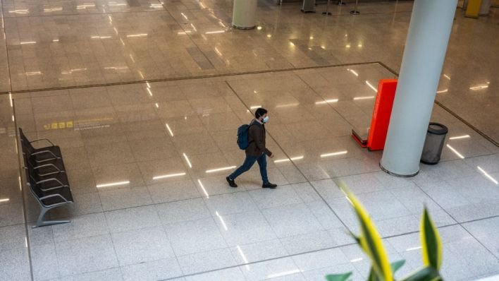 Otros 103 pasajeros internacionales en cuarentena desde que ayer llegasen a Palma
