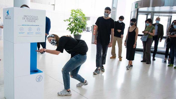 CaixaForum reabre sus puertas con más de 2.000 visitantes