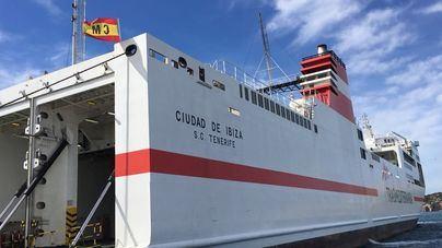 La línea Valencia-Ibiza de Naviera Armas Trasmediterránea, de nuevo en servicio