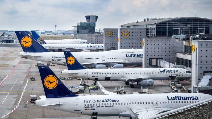 Lufthansa pierde más de 2.000 millones por el coronavirus hasta marzo