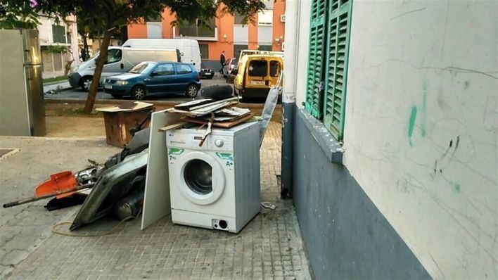 Emaya recoge un 22 por ciento más de trastos con la reanudación del servicio