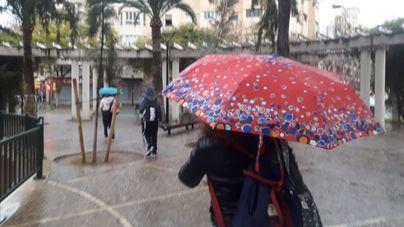 Lluvia en Baleares a partir de mediodía