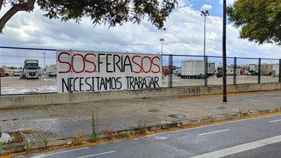 SOS de los feriantes de la Península atrapados en Palma desde el estado de alarma