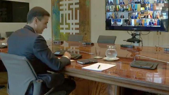 Sánchez comparecerá de nuevo tras la reunión con los presidentes autonómicos