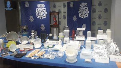 Prisión para uno de los detenidos por el laboratorio de drogas en Palma