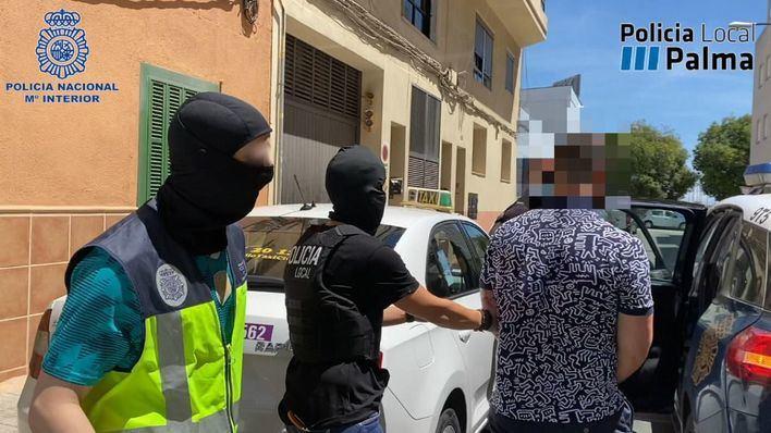 Golpe antidroga en Palma: desmantelan una plantación de marihuana y un punto de transformación de cocaína