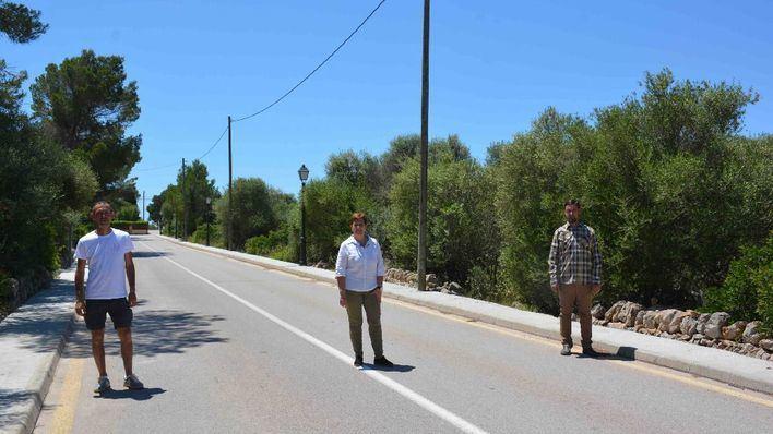Santanyí invierte 46.000 euros en mejorar las aceras en Cala Llombards