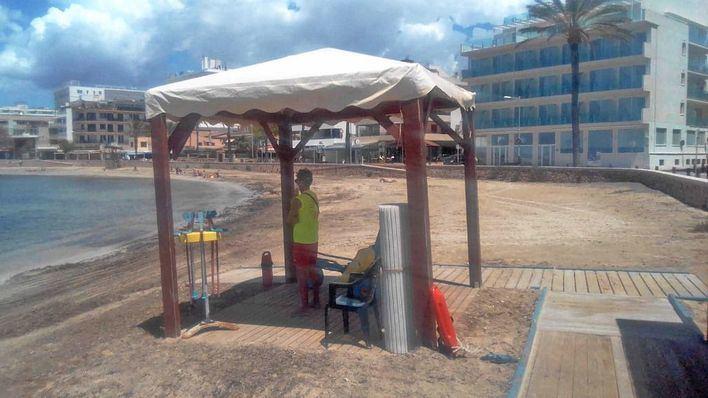 Palma abre todos los puntos de baño accesible de sus playas