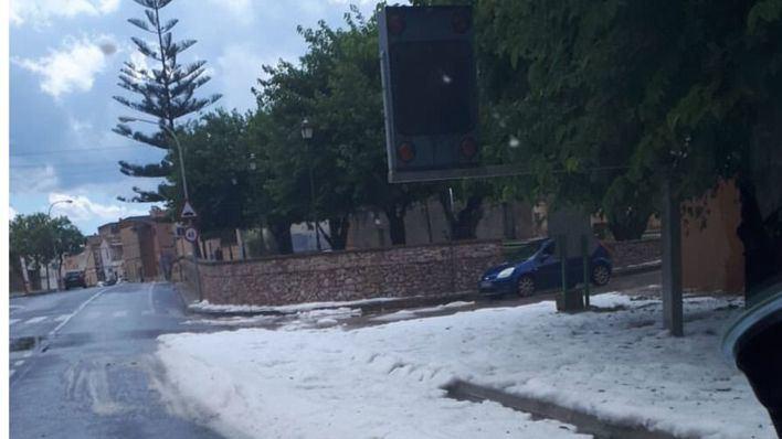 Alerta naranja por fuertes tormentas en la comarca de Llevant