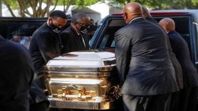Houston acoge el multitudinario funeral en recuerdo de George Floyd
