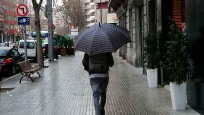 Chubascos, tormentas y granizo en Baleares