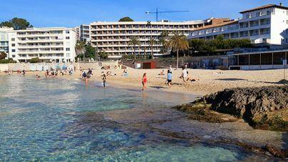 Tres Banderas Azules para las playas de Palma