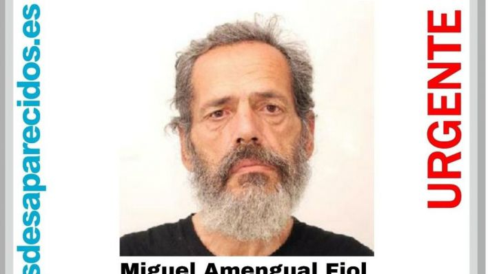 Se busca a Miguel Amengual, desaparecido en Palma desde el lunes