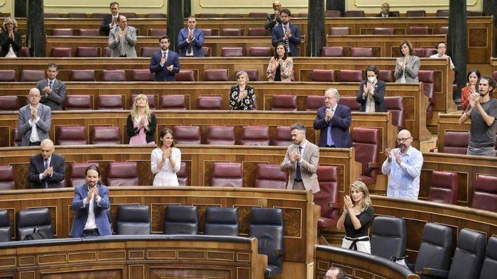 El Congreso aprueba el Ingreso Mínimo Vital sin ningún voto en contra y el apoyo del PP