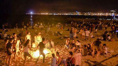 Las playas permanecerán cerradas la Nit de Sant Joan