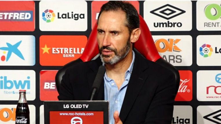 """Vicente Moreno: """"El Barça es favorito en cualquier circunstancia"""""""