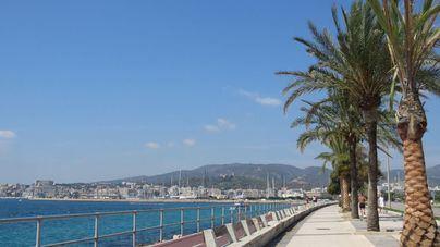 Viernes soleado y con viento en Baleares