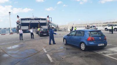 Naviera Armas Trasmediterránea transporta 1.293 pasajeros repatriados de Marruecos